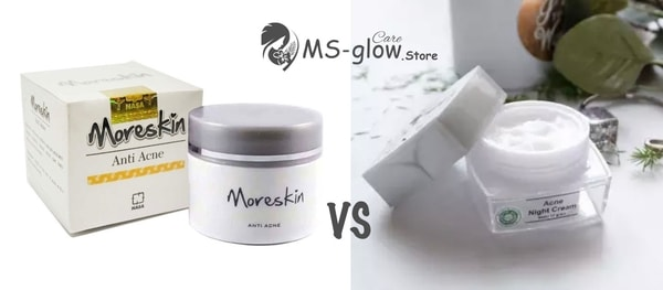 Moreskin vs MS Glow: Perbandingan Manfaat Produk Anti Aging