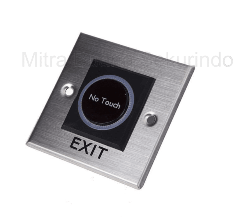 No touch exit square